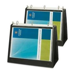 Business Source 1-Inch Easel Landscape Presentation Folder B