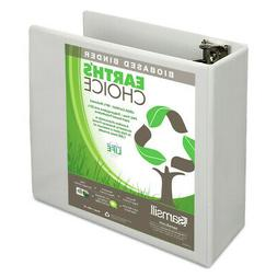 Samsill 18997 Earth's Choice 4 in. Cap. Biobased View Binder