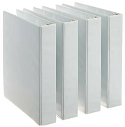 3-Ring Binder, 1.5 Inch Rings - 4-Pack  ***FREE FAST SHIPPIN
