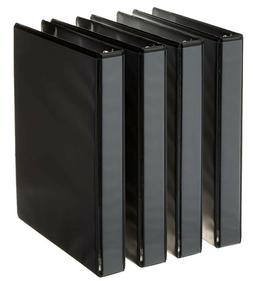 3-Ring Binder, 1 Inch Rings - 4-Pack  ***FREE FAST SHIPPING!
