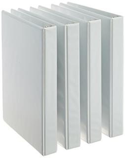 3-ring binder with round 1-inch rings that hold up to 175 sh