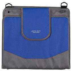 Five Star 4 Inch Zipper Binder, Durable, Color Selected For