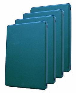 Mead 46001-HG Small 6-Ring Hunter Green Binders with 6.75 x