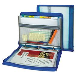 C-Line Products 48115 Zippered Binder With Expanding File, 1