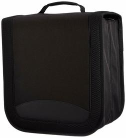 AmazonBasics Nylon CD/DVD Binder Case