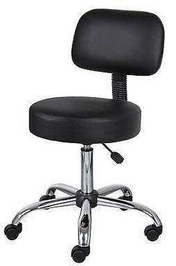 Boss Office Products B245-BK Be Well Medical Spa Stool with
