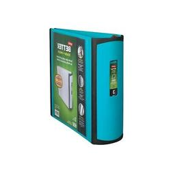 Staples Better 3-Inch D 3-Ring View Binder Teal  702877