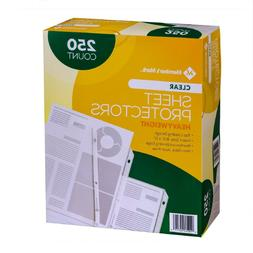Members Mark Clear Poly Document Sheet Protectors 250 ct. us