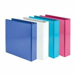 Samsill Economy 3 Ring View Binders, 2 Inch Round Ring, Cust