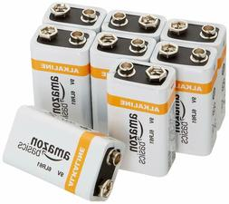 AmazonBasics 9 Volt Everyday Alkaline Batteries  FREE 2 DAY
