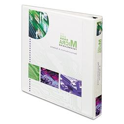 Extra-Wide EZD Reference View Binder 1in Capacity