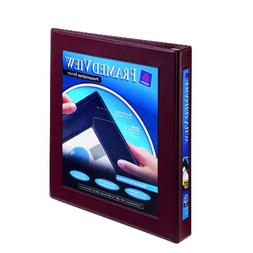 Avery Framed View Binder with One-Touch Locking EZD Rings, 1