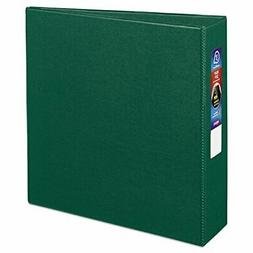 "Heavy-Duty Binder with One Touch EZD Rings, 3"" Capacity, Gre"