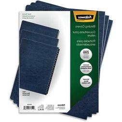 FELLOWES, INC. 52136 BINDING COVERS EXPRESSIONS GRAIN NAVY 2