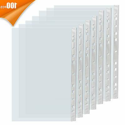 a4 paper 100x sleeves clear sheet