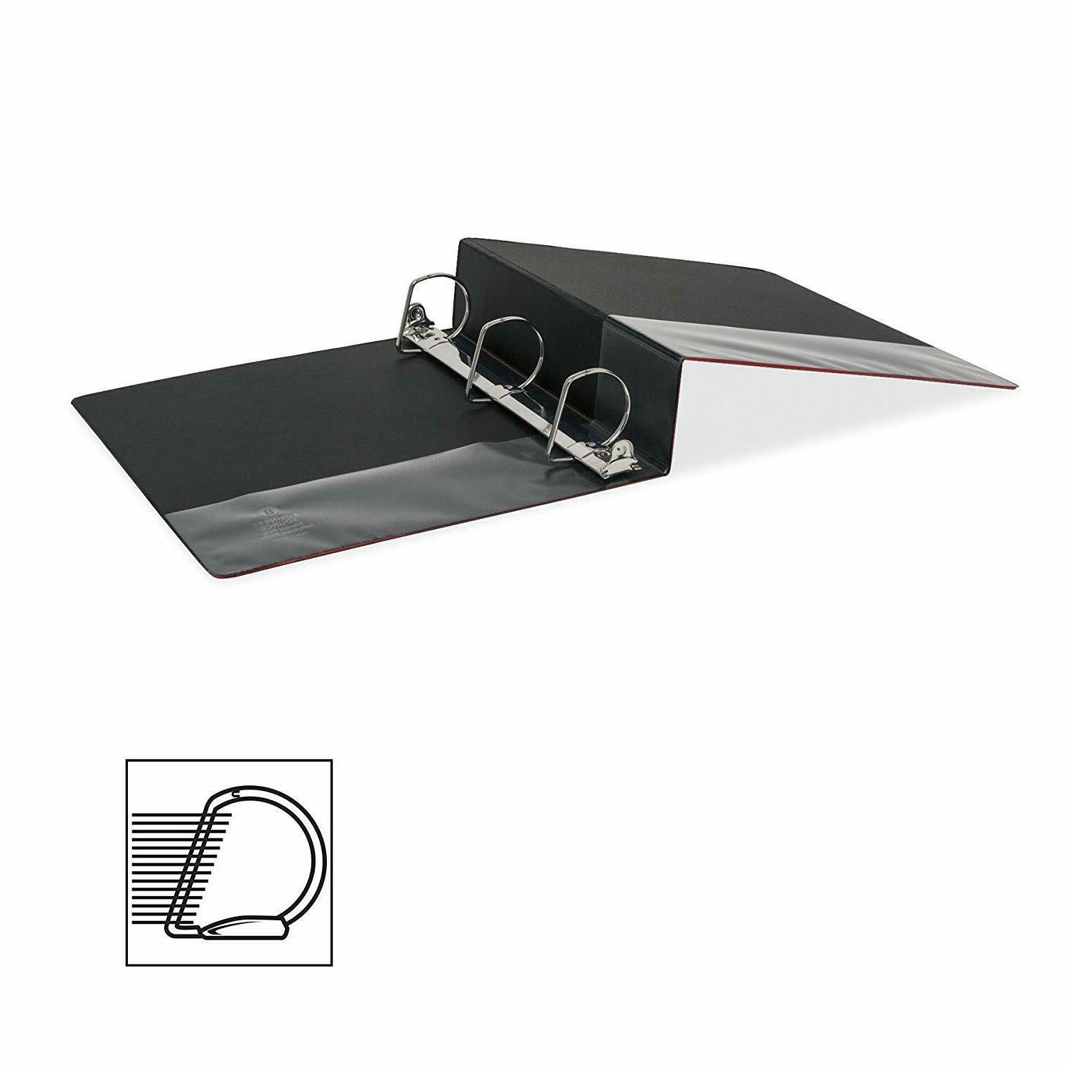 """Business Source 33112 2"""" SLANTED RING BINDERS IN CASE"""