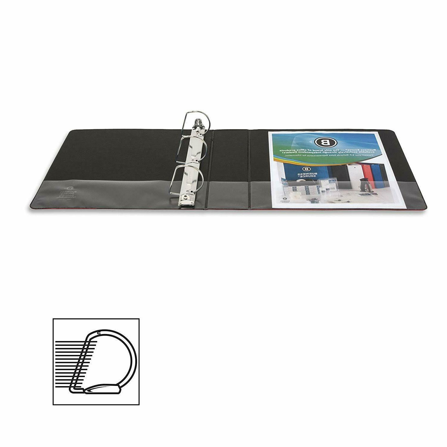 Business Source RING BINDERS NEW IN CASE