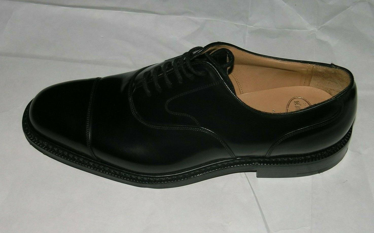 Church's Lancaster Polished Black 9G New With Box