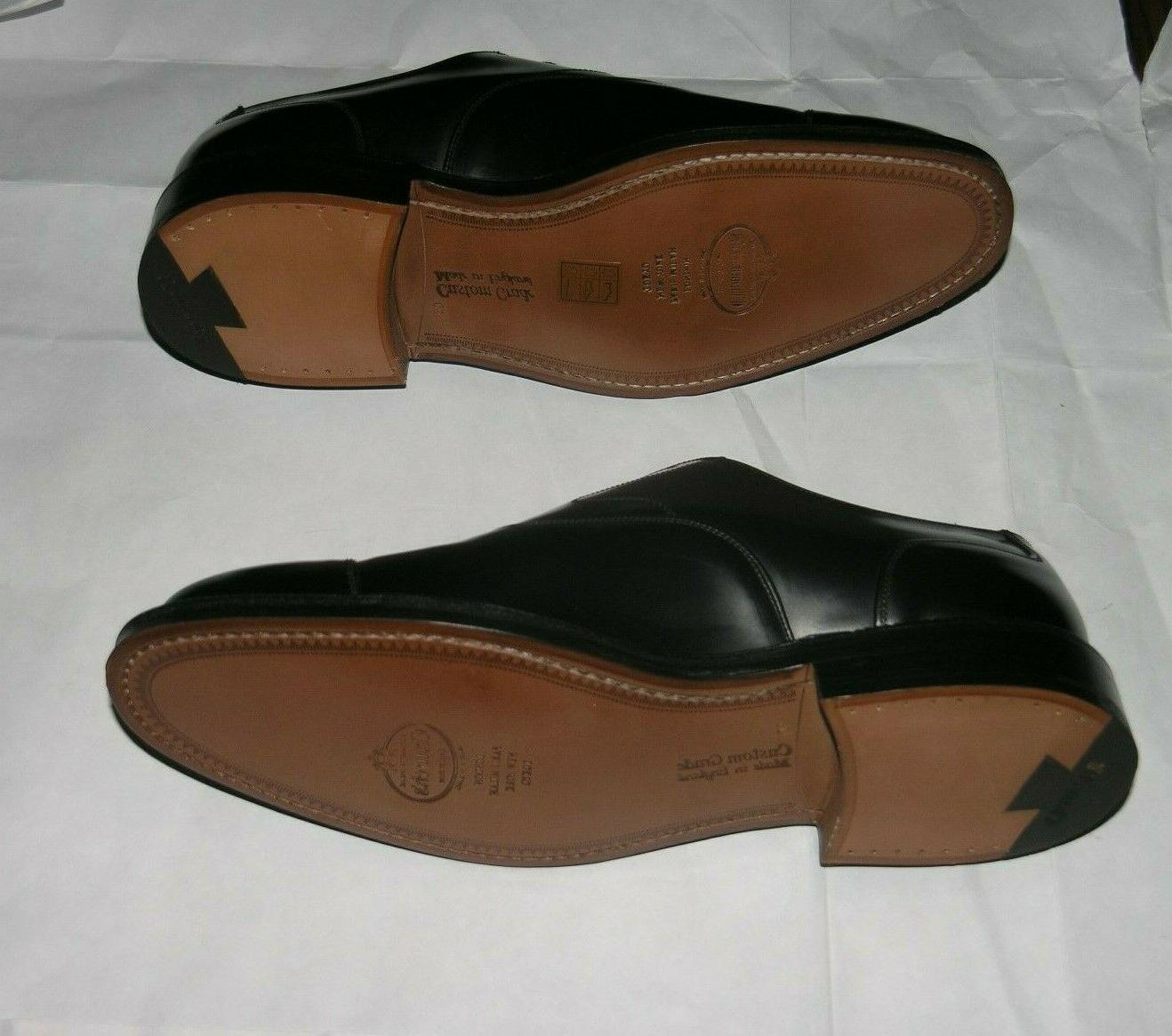 Church's Polished Black Leather Oxfords 9G