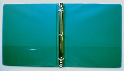 Forest Green Vinyl Standard 3-Ring Binders 1.5-Inch for 8.5 pack