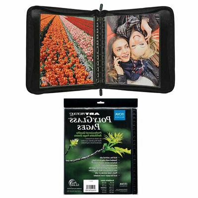 Itoya with Multi-Ring Binder 11 x 14+11x14 Pages