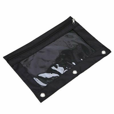Zippered Pouch Holes Bag Portable