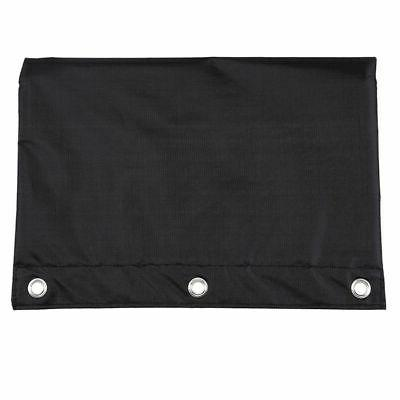 Zippered Pouch with 3 Holes Bag Office Portable