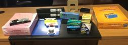 Lot of Office and School Supplies glue post its binders stap