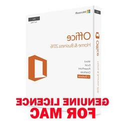 MS Microsoft Office Home & Business 2016 For MAC OS 🌋 Lic
