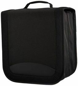 Amazonbasics Nylon Cd/Dvd Binder  Black