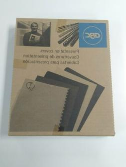 """GBC Presentation Covers, Clear View Binding Covers 11"""" x 8.5"""
