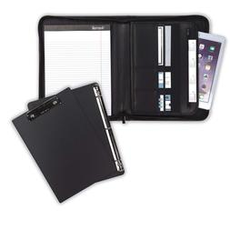 Samsill Professional Padfolio Bundle with Removable Clipboar
