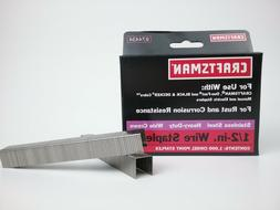 """Stainless Steel Heavy Duty Wide Crown  1/2"""" Wire Staples  74"""