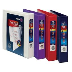 VARIOUS SIZES AVERY 3-Ring Binder Inch Lot PACK Office View